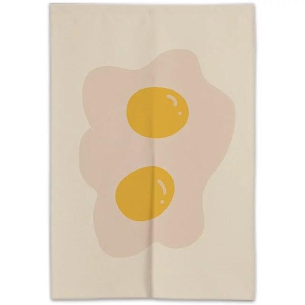 Egg Couple -Doorway Curtain