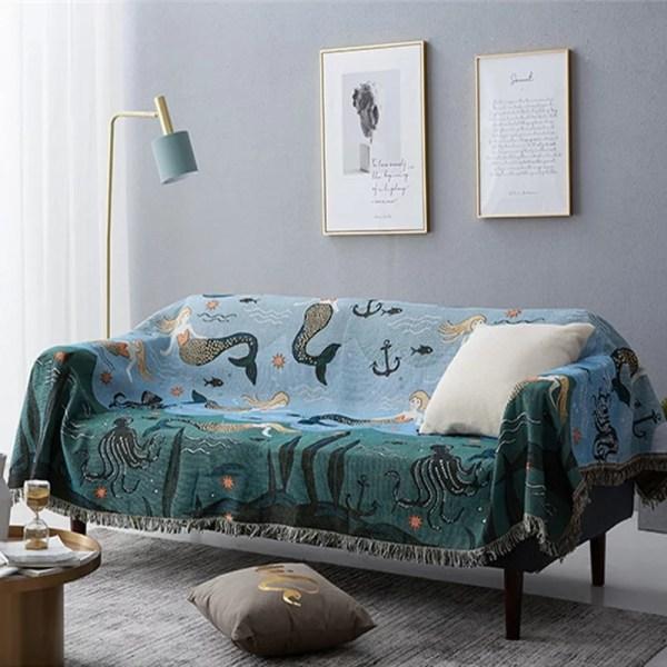 Fat mermaid tapestry