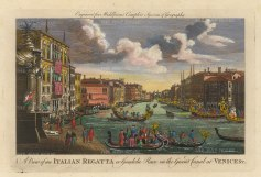 Middleton: Grand Canal, Venice. Hand-coloured copper engraving, 1778. 12 x 7 inches. [ITp2240]