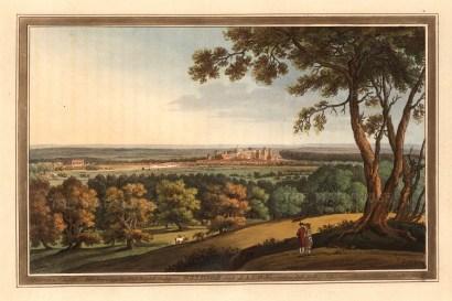 "John Boydell, 'Windsor and Eaton', 1793. An original colour aquatint. 9"" x 13"". £POA."