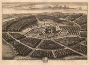 """Kip, 'Westwood in Worcestershire', 1715. An original black and white copper-engraving. 20"""" x 14"""". £POA"""