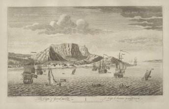 Sayer: Cape of Good Hope, South Africa. 1774. An original antique copper-engraving. 18 x 12 inches. [AFRp1305]