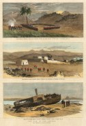 The Graphic Magazine: Sudan. 1885. A hand-coloured original antique wood-engraving. 10 x 13 inches. [AFRp1376]