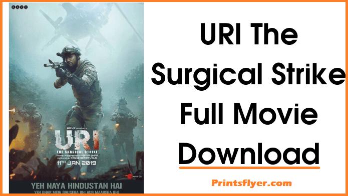 Uri full Movie Download Filmywap 720p