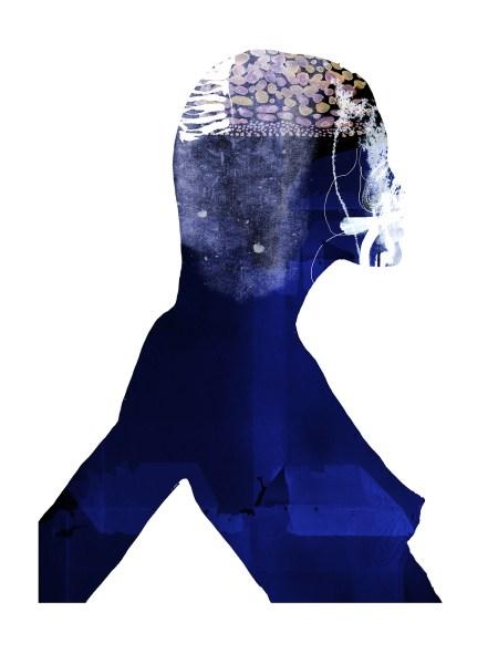 Blue Woman 1