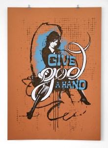 GIVE GOD A HAND