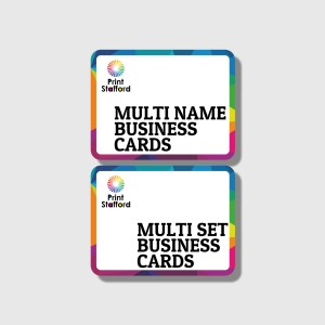 multi name business cards