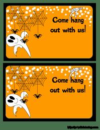 free halloween party invitations uk