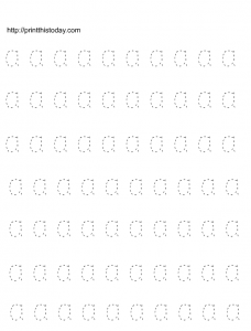Free Printable Alphabet Tracing Worksheets A B C D E F