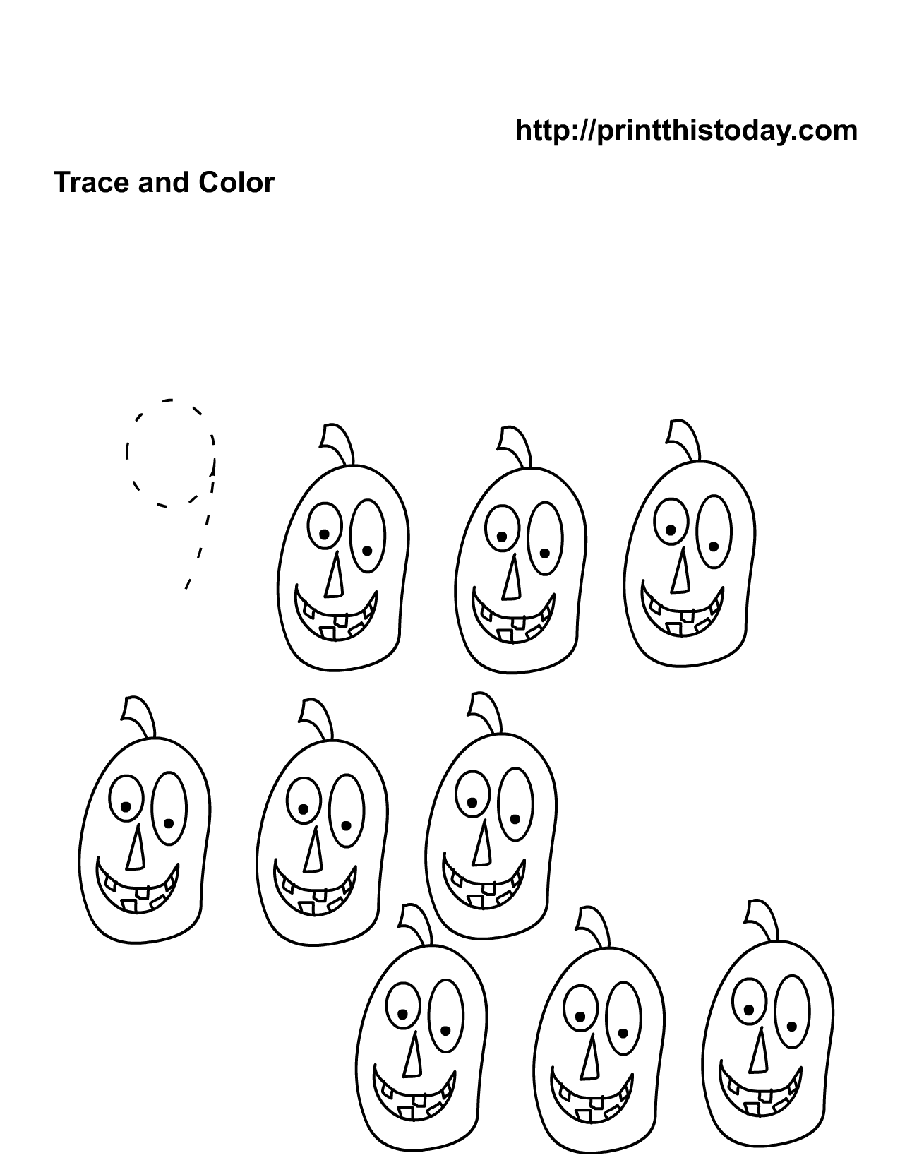 Free Printable Halloween Math Worksheets For Pre School And Kindergarten