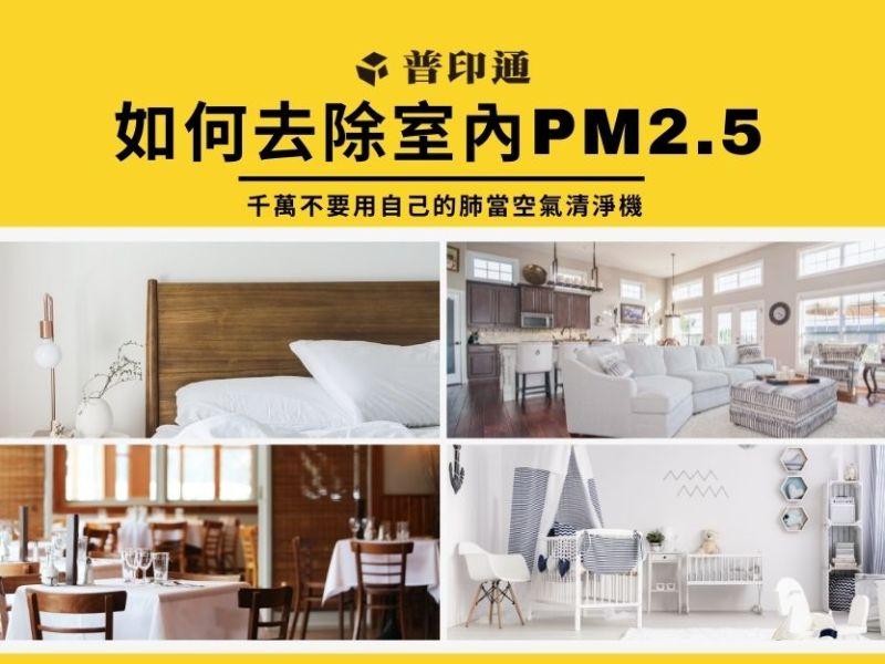 如何去除室內 PM2.5,3大原則降低過敏機率