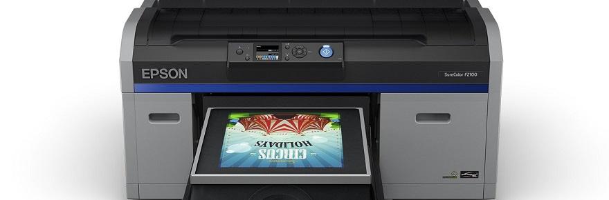 Epson SureColor F2100 DTG printer