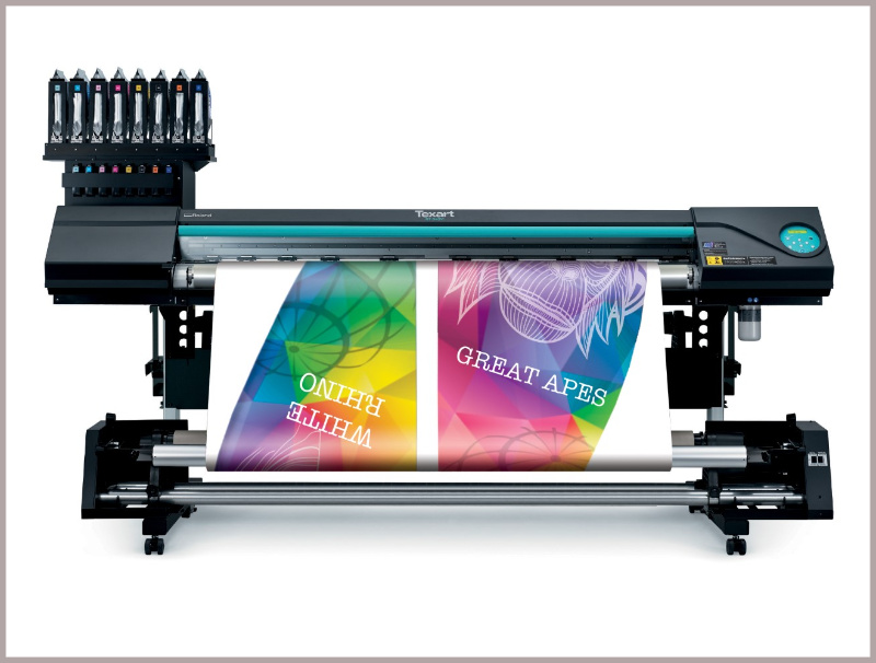 Roland multifunction dye sublimation printer