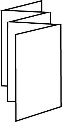 10 Page Leaflet Concertina Fold