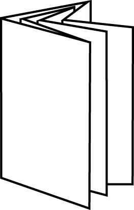 16 Page Leaflet Parallel Quad Fold