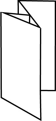 8 Page Leaflet Reverse Map Fold