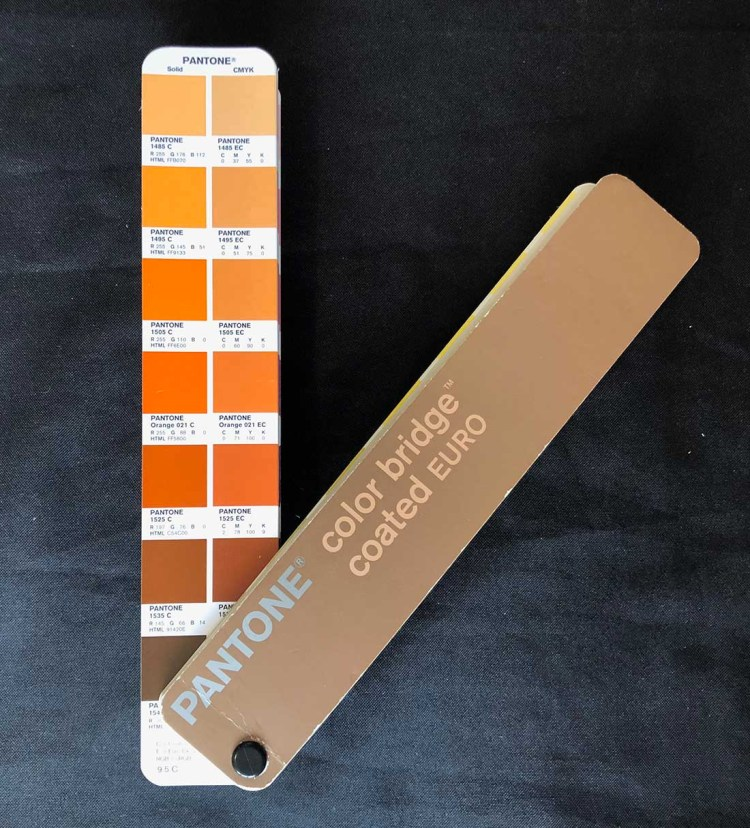 Pantone Solid & CMYK Orange