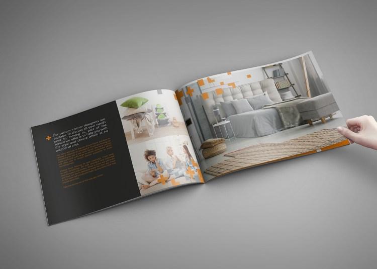 Stapled Landscape Brochure