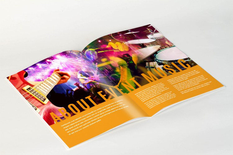 Portrait Brochure Printed in Full Colour