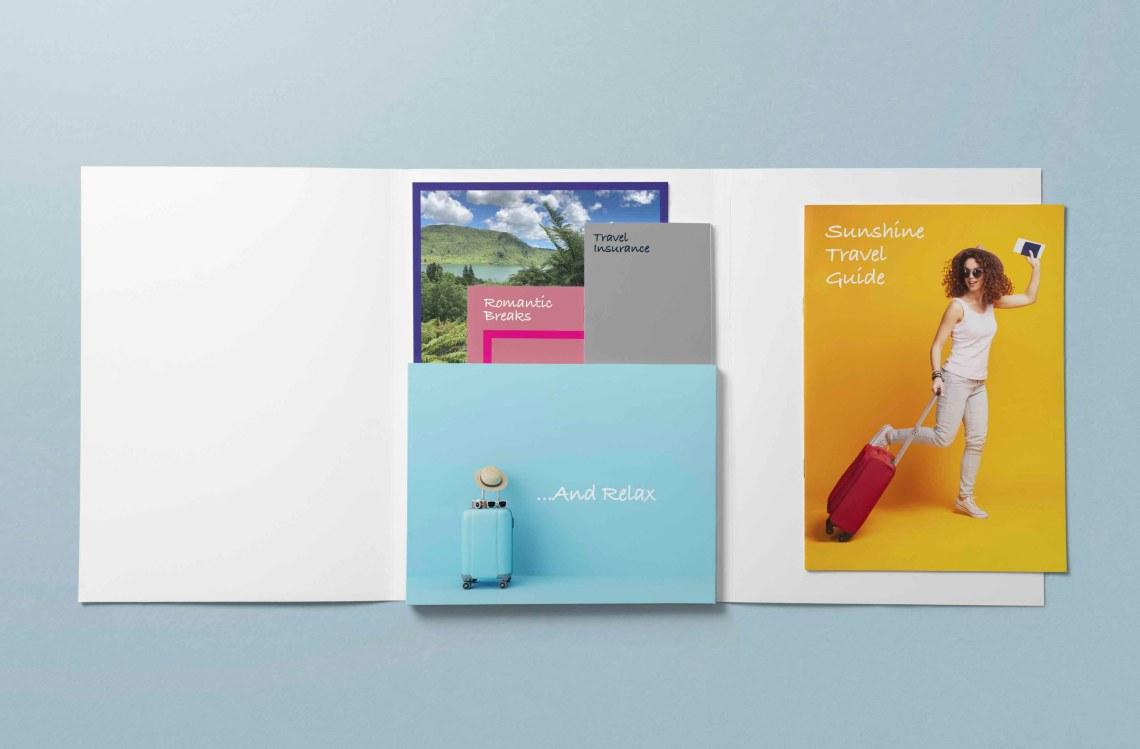 Printed Promotional Folders