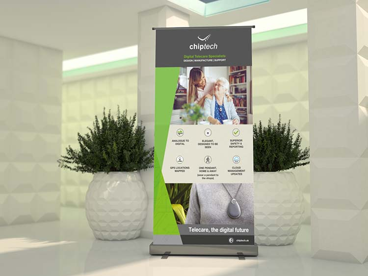 Pop Up Banners Roller Banner Printing in West London