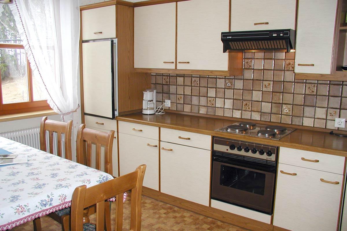 Ferienwohnung Sonnenschein, Küche, Prinzenhof