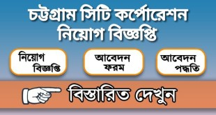 Chittagong City Corporation Job Circular 2020