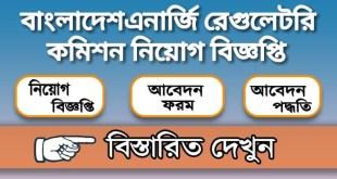 বাংলাদেশ এনার্জি রেগুলেটরি কমিশন নিয়োগ বিজ্ঞপ্তি
