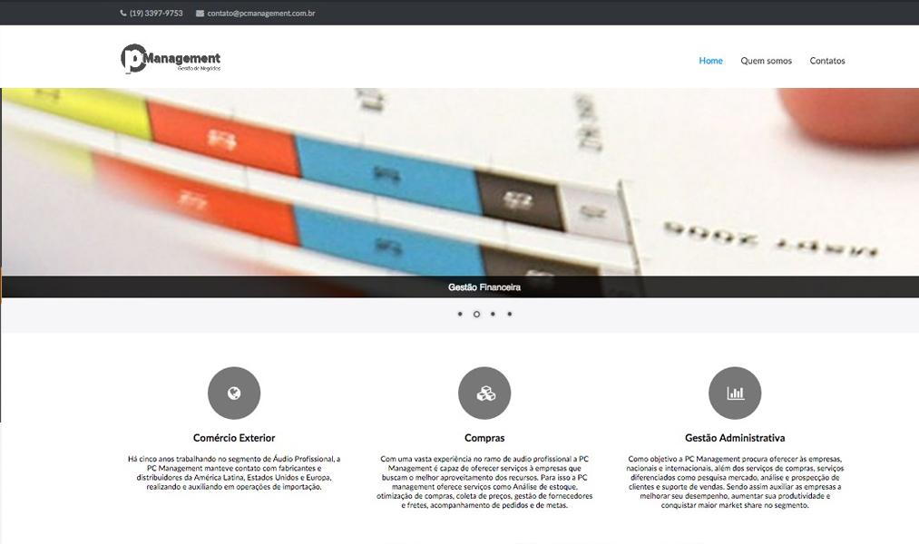 Website Institucional