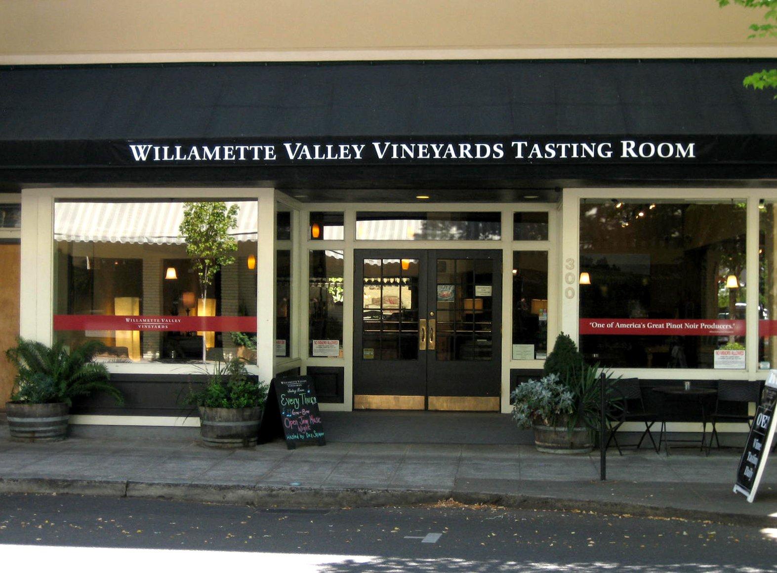 Willamette Valley Vineyards McMinnville