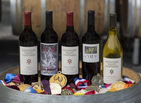 AVV Core Wine with medals 2018