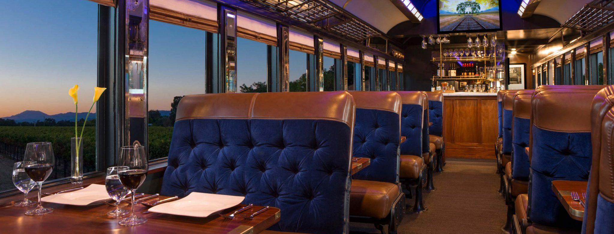 Napa Wine Train – Full Day Winery Tours