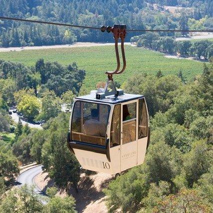 Sterling Vineyards Aerial Tram Ride