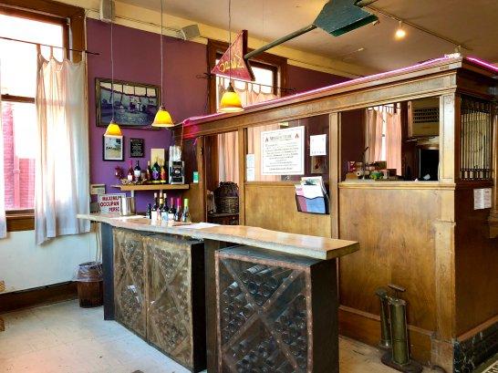 Tasting Room bar area