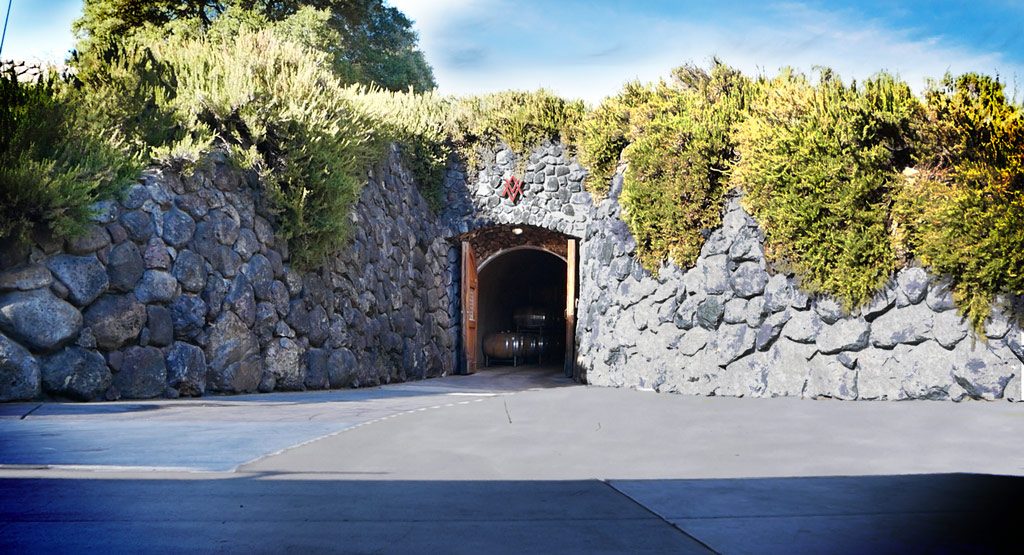 Alexander Vineyards Wine Cave Entrance