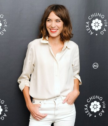 NY: Alexa Chung for AG New York Launch Party