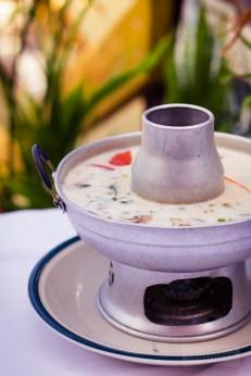 Thailanding On Alki - Tom Kha Chicken Soup