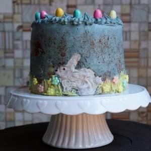 imagem de bolo de pascoa