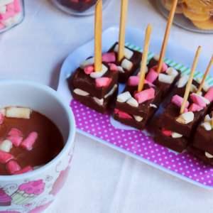 Imagem Chocolate quente no palito