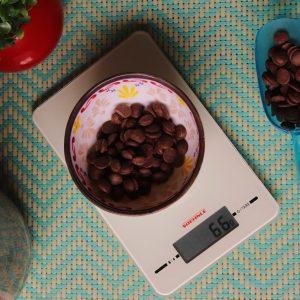 imagem balança de precisão culinaria