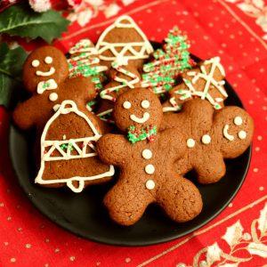 imagem biscoito de gengibre