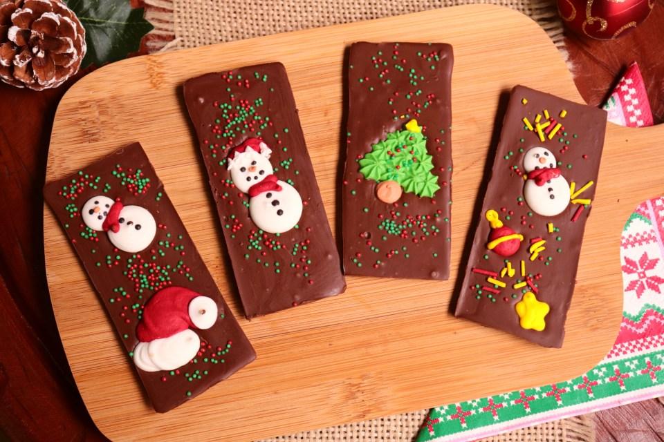 imagem tablete de chocolate de menta