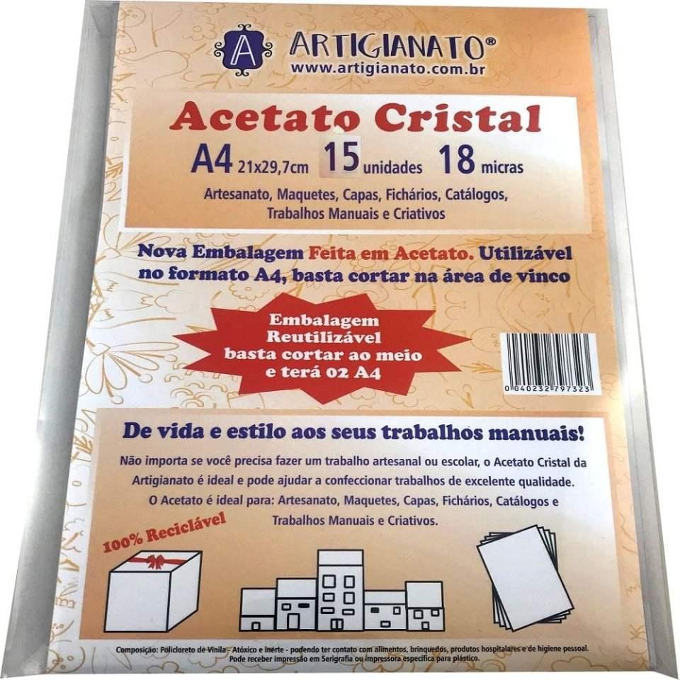 Folha de Acetatato