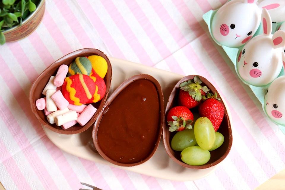 imagem kit fondue de páscoa