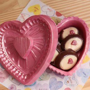 imagem porta joia de chocolate