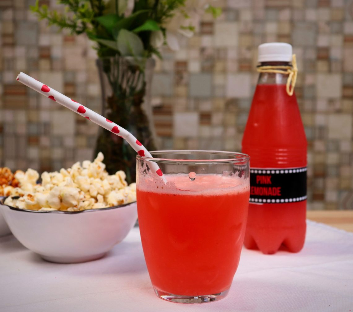 imagem suco pink lemonade