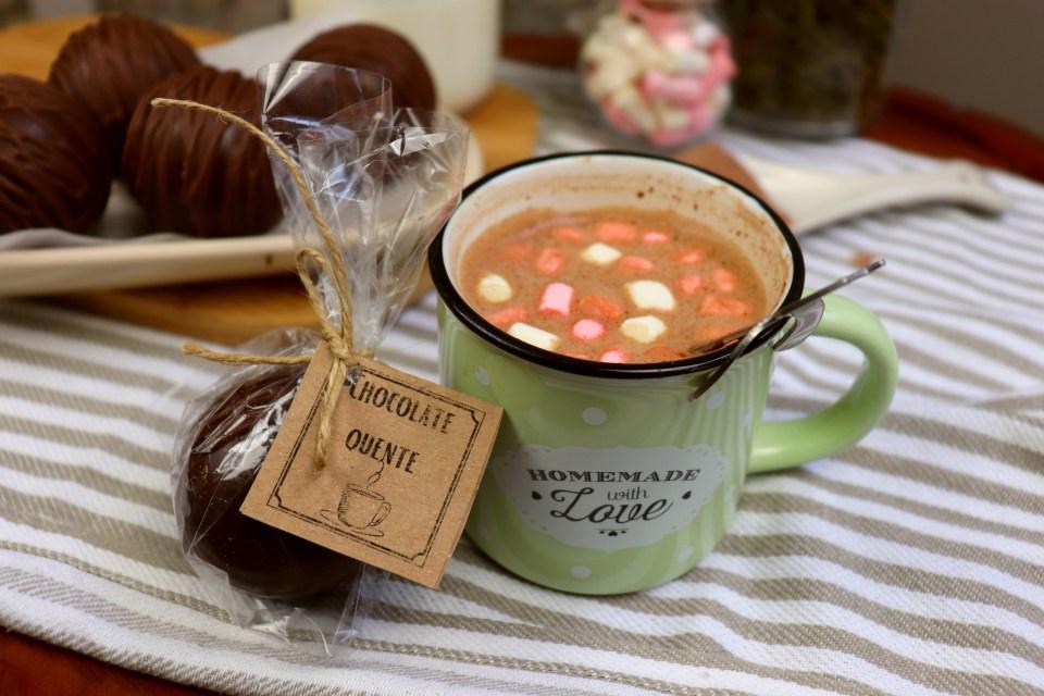 imagem bomba de chocolate quente para vender