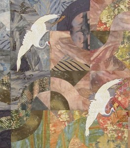 Cranes Closeup