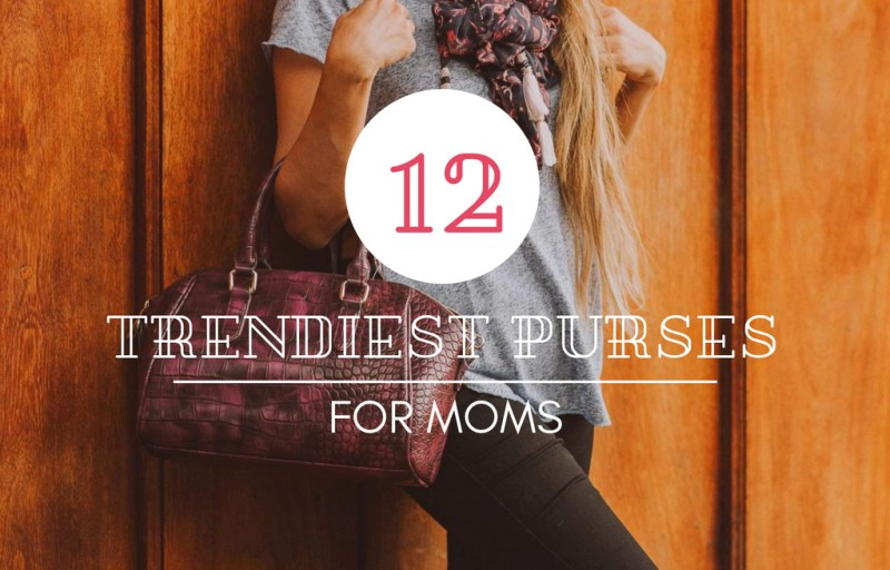 stylish mom purses