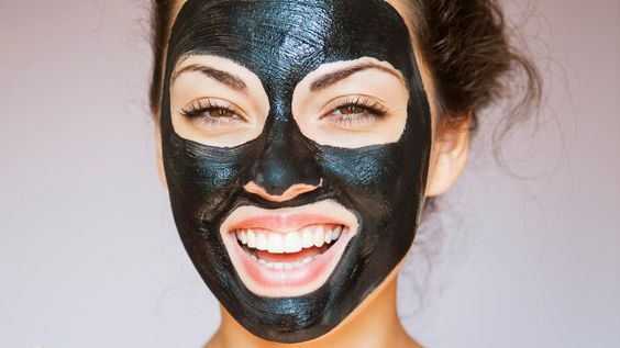black peel off masks